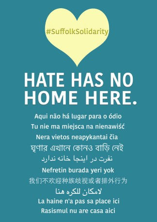 Hate Has No Home Here Suffolk Solidarity web