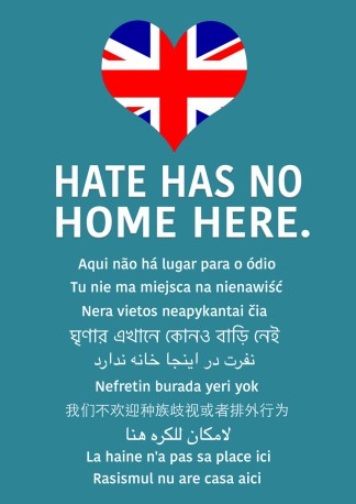Hate Has No Home Here Union Web